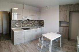 1-room apartment with repair in the new building, metro Gagarin