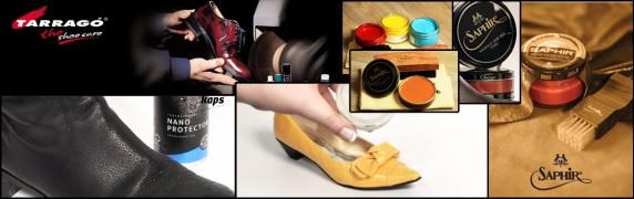 Care products shoes