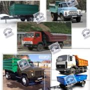 Hydraulic cylinder Kamaz, Zil, Pts, Maz, Gas new and after repair. Sv