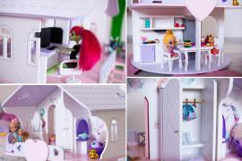 Кукольный домик и мебель - отличный подарок ребенку