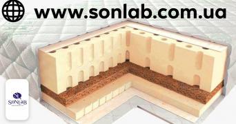 Латексний матрац SoNLaB Latex Т18 висотою 20 см
