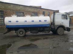 Manufacture and repair of tank trucks, tanker trucks, milk tankers