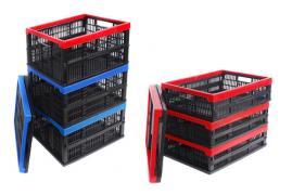Пластикові складні коробки