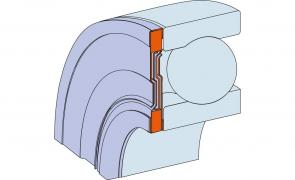 seals for bearings NILOS-RING