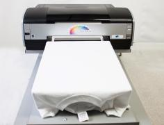 Textile printer for direct printing