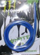 The petrol hose 4mm blue (silicone) 1 meter